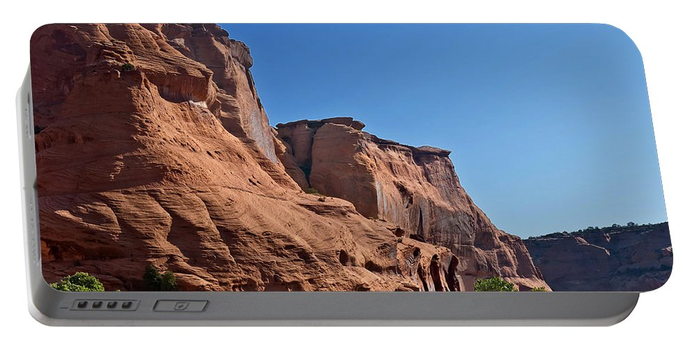 Navajo Portable Battery Charger featuring the photograph Canyon Dechelly Navajo Nation by Bob and Nadine Johnston