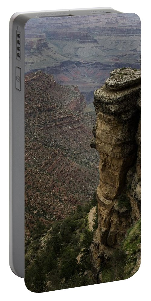 Peaks Portable Battery Charger featuring the photograph Canyon Peaks by Kathleen Odenthal