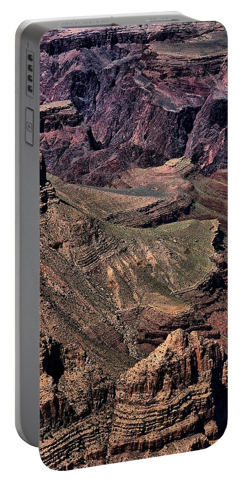 Grand Canyon Portable Battery Charger featuring the photograph Canyon Walls by Robert McCubbin