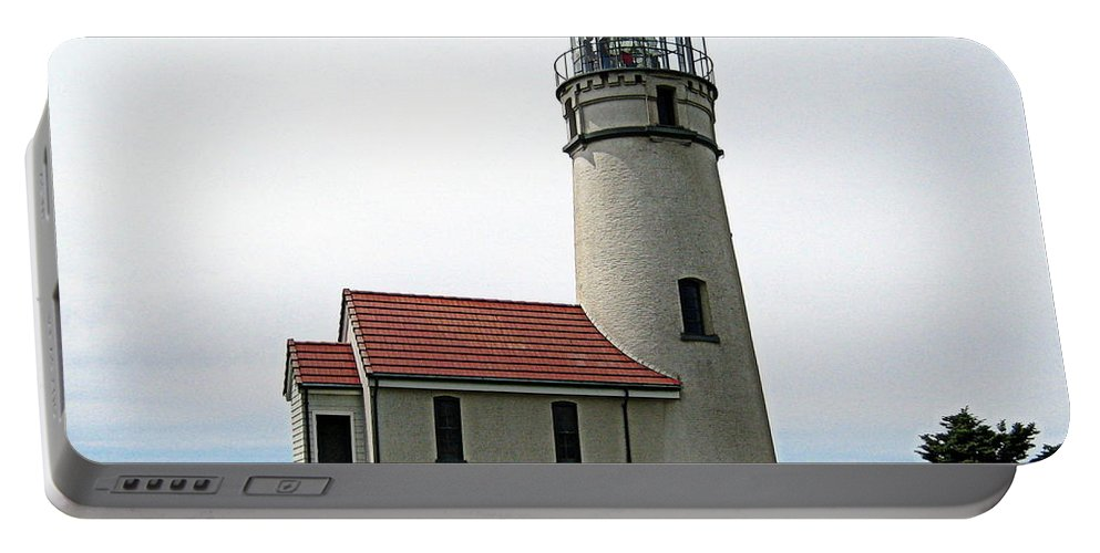 Landscape Portable Battery Charger featuring the photograph Cape Blanco Lighthouse by AJ Schibig