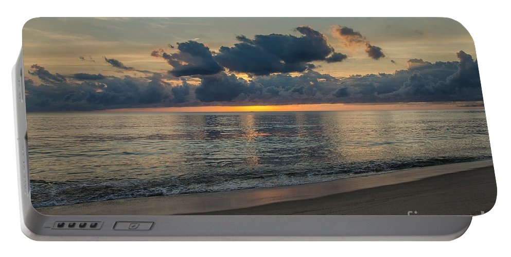 Cape Cod Portable Battery Charger featuring the photograph Cape Cod Sunrise by Pat Lucas