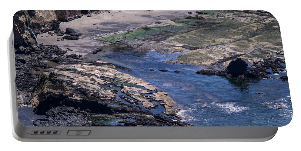 Cape Portable Battery Charger featuring the photograph Cape Foulweather 1 by Tracy Knauer
