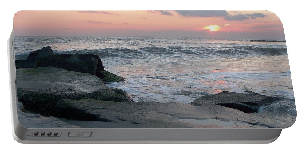Cape May Portable Battery Charger featuring the photograph Cape May by Eric Schiabor
