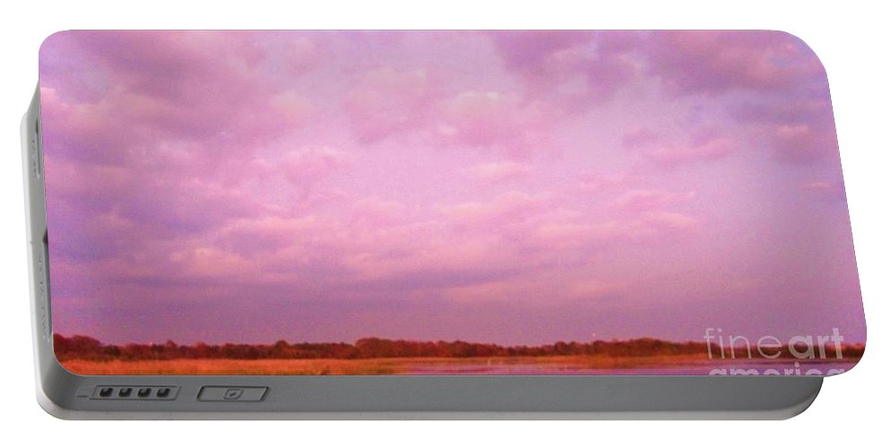 Cape May Point State Park Portable Battery Charger featuring the photograph Cape May Point State Park Landscape by Eric Schiabor