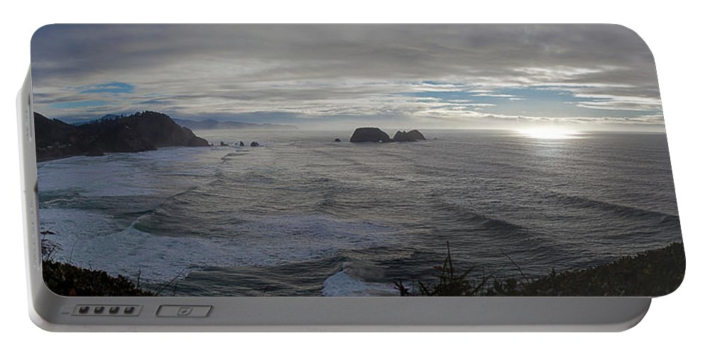 Cape Mears Portable Battery Charger featuring the photograph Cape Mears Storms by Mike Reid