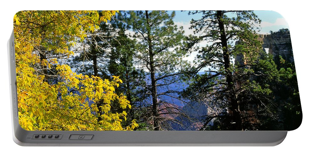 Angel Arch Portable Battery Charger featuring the photograph Cape Royal Grand Canyon by Ed Riche