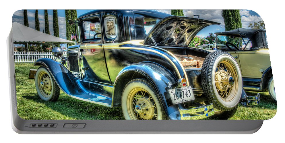 Car Portable Battery Charger featuring the photograph Car 3 by Larry White