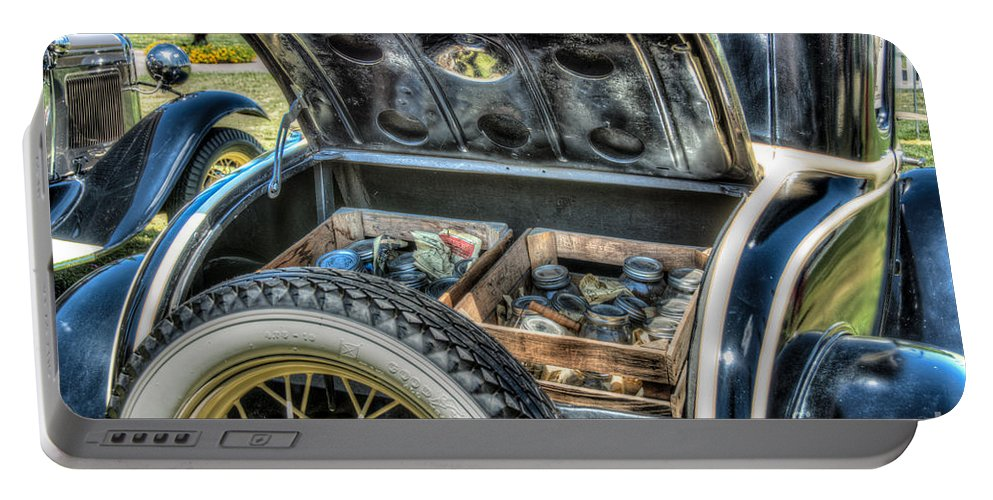 Car Portable Battery Charger featuring the photograph Car 4 by Larry White