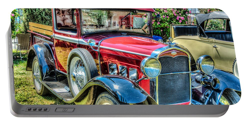 Car Portable Battery Charger featuring the photograph Car 5 by Larry White