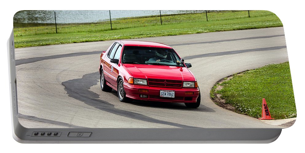 Dodge Spirit Rt Portable Battery Charger featuring the photograph Car No. 34 - 05 by Josh Bryant