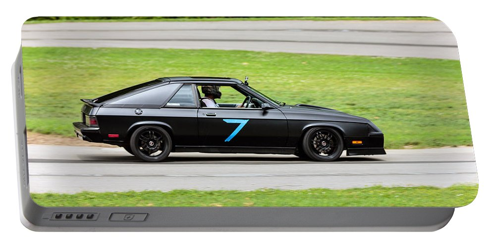 Dodge Charger Glhs Portable Battery Charger featuring the photograph Car No. 7 - 08 by Josh Bryant