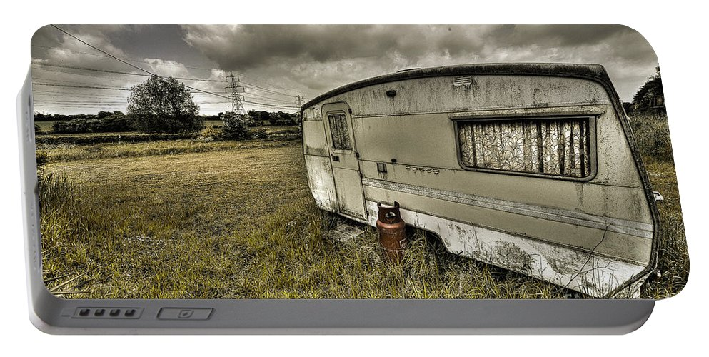 Caravan Portable Battery Charger featuring the photograph Caravan by Rob Hawkins