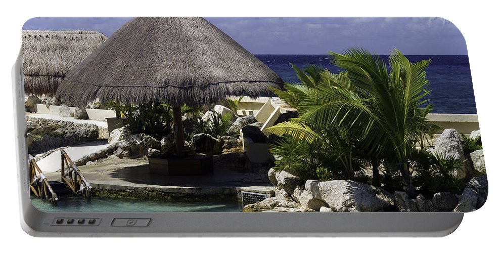 Caribbean Portable Battery Charger featuring the photograph Caribbean Breeze Four by Ken Frischkorn