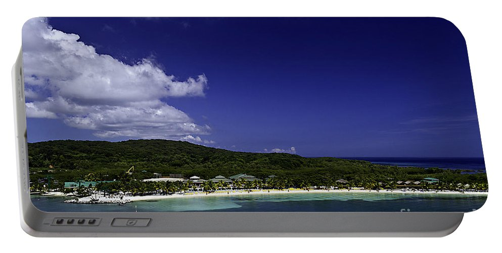 Caribbean Portable Battery Charger featuring the photograph Caribbean Breeze Nine by Ken Frischkorn
