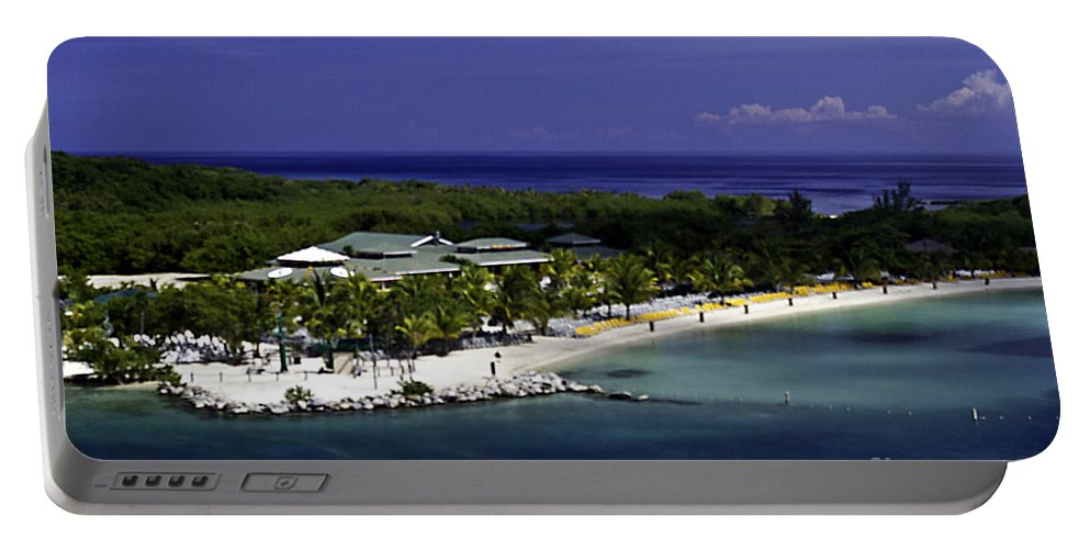 Caribbean Portable Battery Charger featuring the photograph Caribbean Breeze Ten by Ken Frischkorn