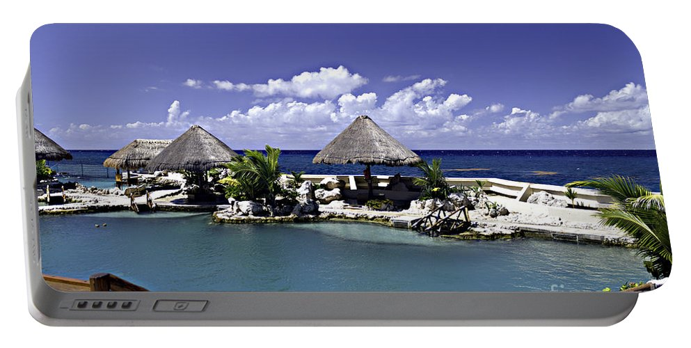 Caribbean Portable Battery Charger featuring the photograph Caribbean Breeze Three by Ken Frischkorn