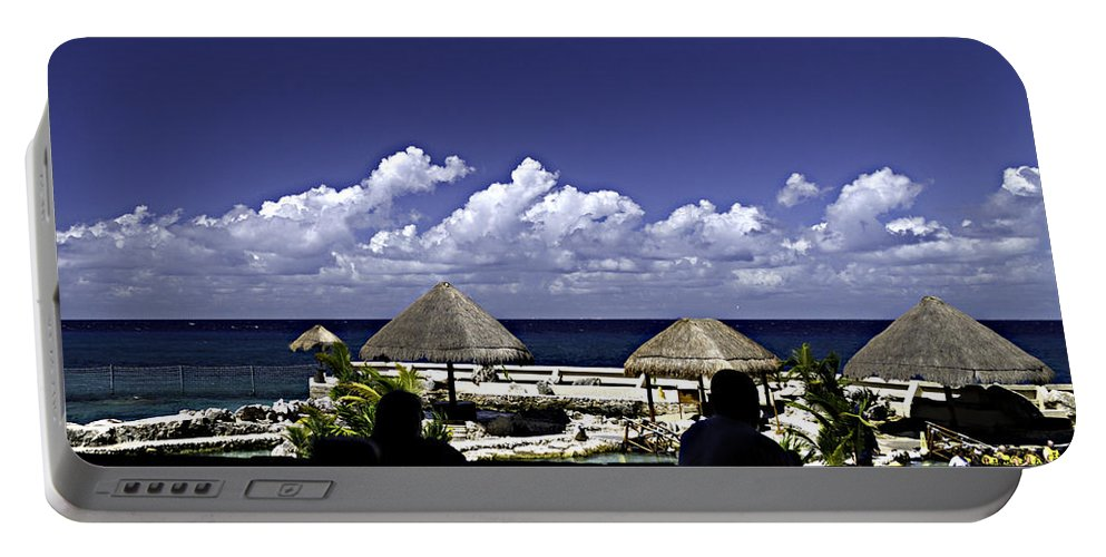Caribbean Portable Battery Charger featuring the photograph Caribbean Breeze Two by Ken Frischkorn