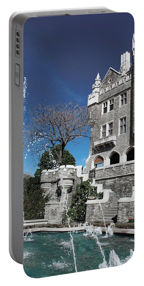 Casa Loma Portable Battery Charger featuring the photograph Casa Loma Series 02 by Carlos Diaz