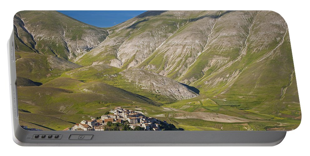 Castelluccio Portable Battery Charger featuring the photograph Castelluccio by Brian Jannsen