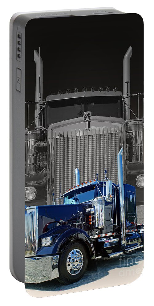 Trucks Portable Battery Charger featuring the photograph Catr3101a-13 by Randy Harris