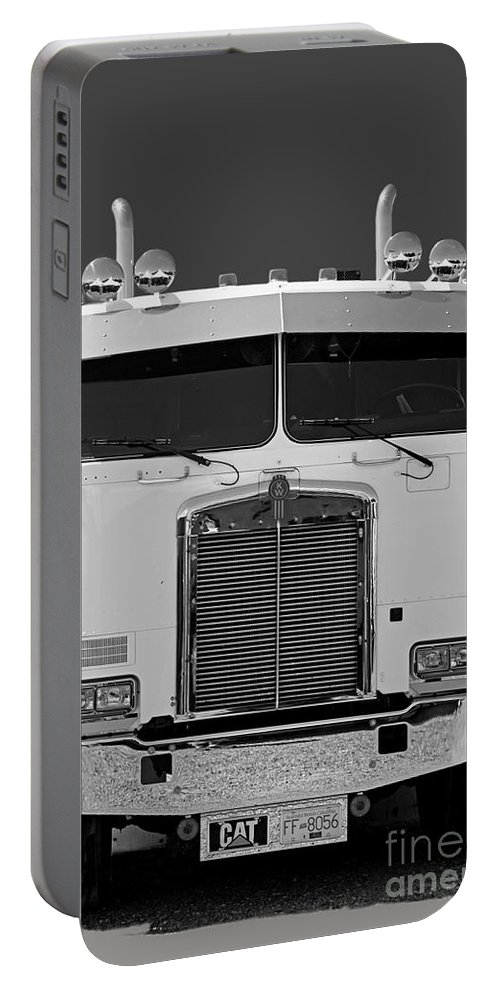 Trucks Portable Battery Charger featuring the photograph Catr3137-13 by Randy Harris