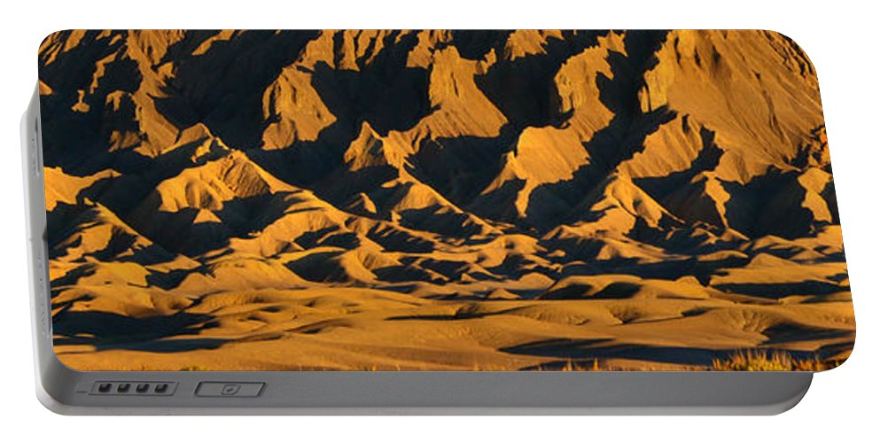 Panoramic Photography Portable Battery Charger featuring the photograph Sands Of Time by David Lee Thompson