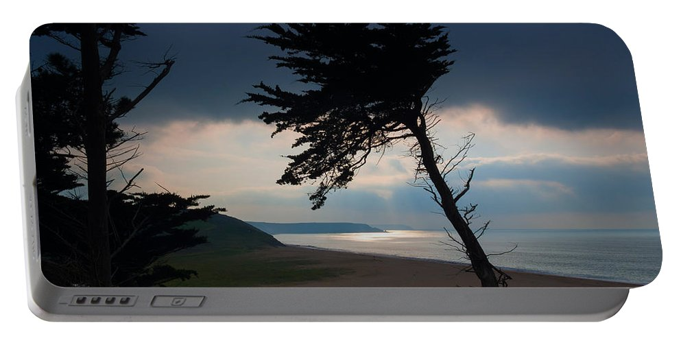 Loe Bar Portable Battery Charger featuring the photograph Cedar Silhouettes by Louise Heusinkveld