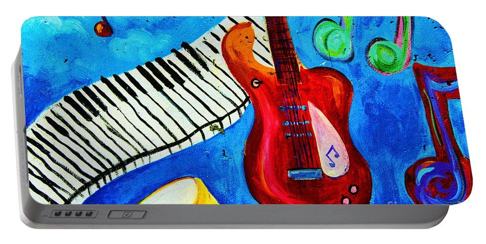 Hoboken Nj Wall Art Portable Battery Charger featuring the photograph Celebration Hoboken #1 by Regina Geoghan