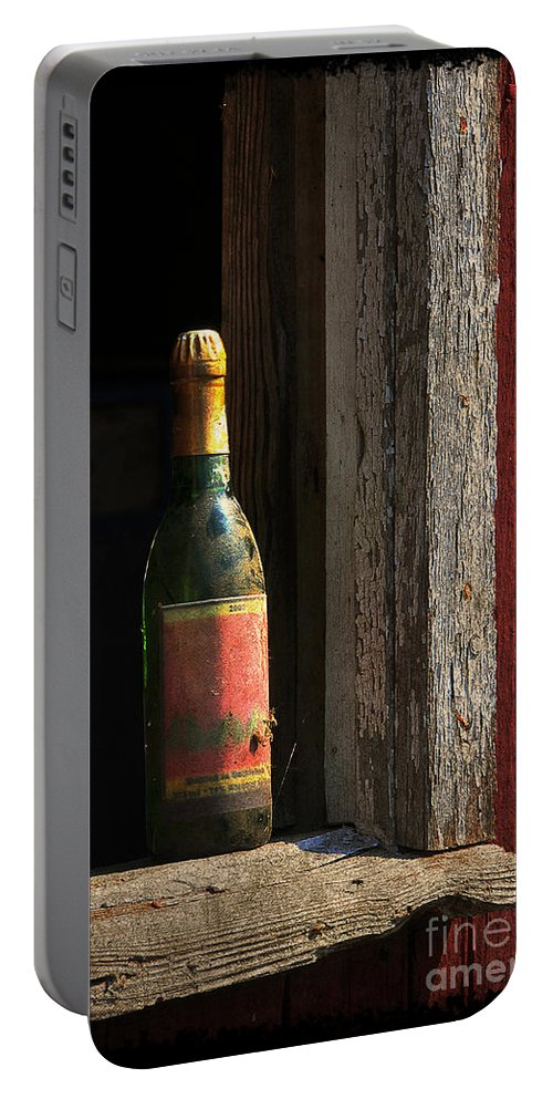 Bottle Portable Battery Charger featuring the photograph Celebrations Past by Lois Bryan