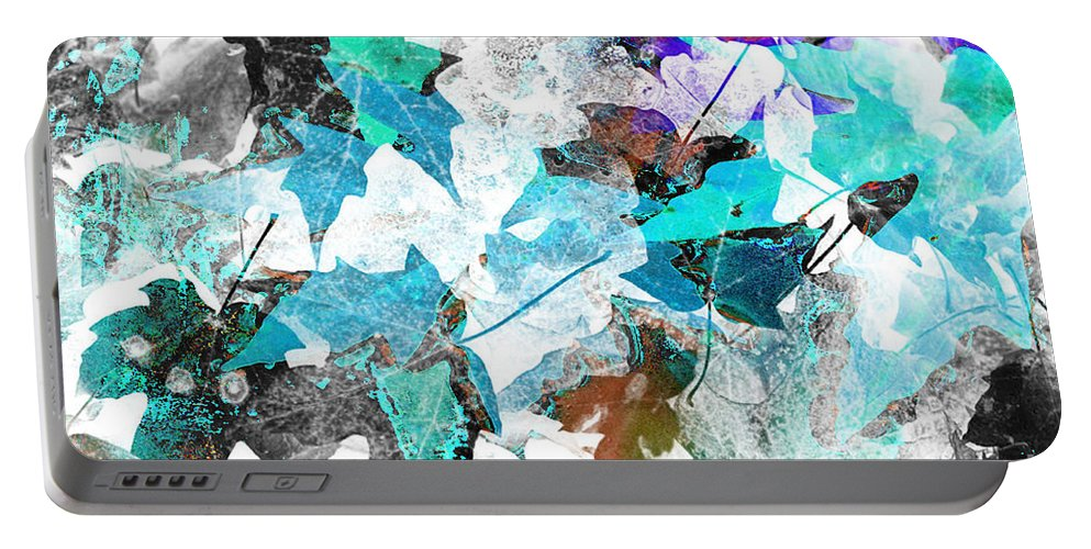 Digital Art Abstract Portable Battery Charger featuring the digital art Change Is On The Way by Yael VanGruber