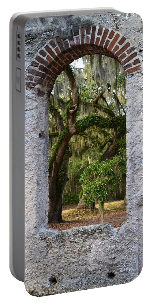 Chapel Of Ease Portable Battery Charger featuring the photograph Chapel Of Ease by Patricia Greer