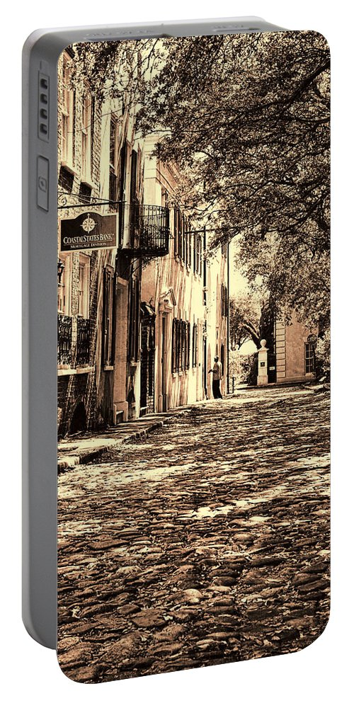 Landscape Portable Battery Charger featuring the photograph Charleston by Marcia Colelli