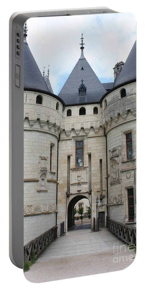 Palace Portable Battery Charger featuring the photograph Chateau De Chaumont - France by Christiane Schulze Art And Photography