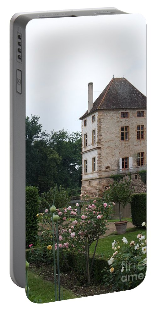 Palace Portable Battery Charger featuring the photograph Chateau De Cormatin - Burgundy by Christiane Schulze Art And Photography