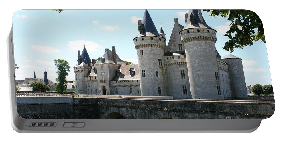 Castle Portable Battery Charger featuring the photograph Chateau De Sully-sur-loire by Christiane Schulze Art And Photography