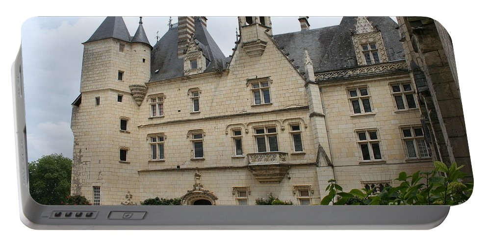 Palace Portable Battery Charger featuring the photograph Chateau Usse by Christiane Schulze Art And Photography