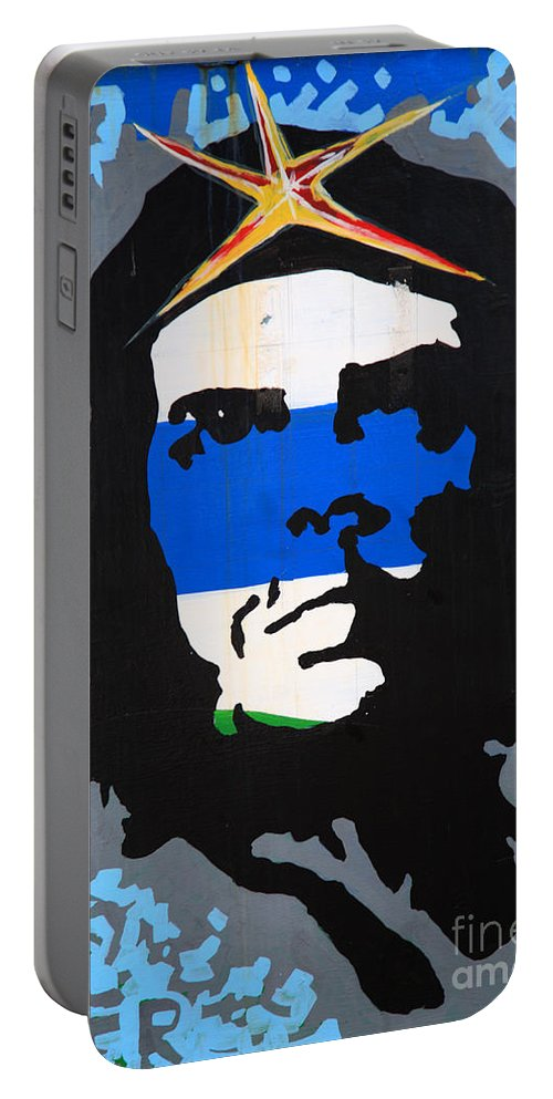 Argentine Portable Battery Charger featuring the photograph Che Guevara Picture by Deborah Benbrook