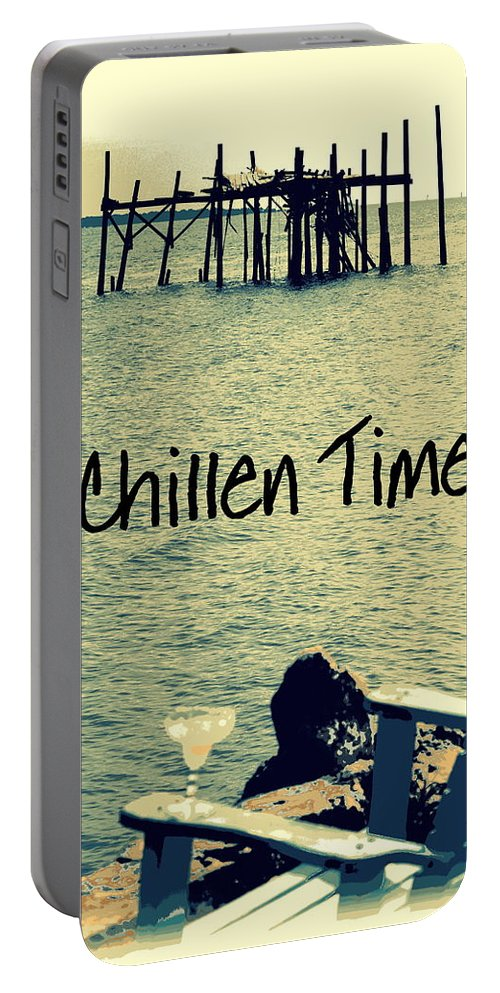 Chillen Time Portable Battery Charger featuring the photograph Chillen Time 1 by Sheri McLeroy