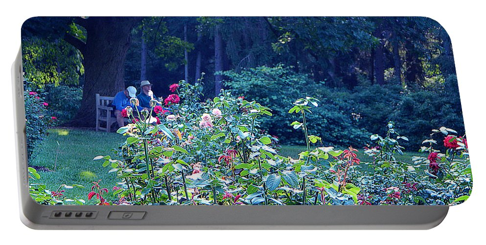 Nature Portable Battery Charger featuring the photograph Chilling Out by Said Oladejo-lawal
