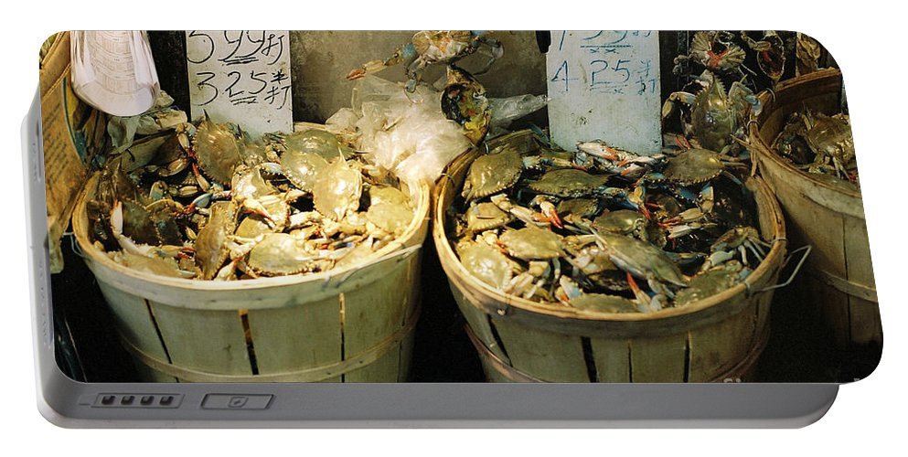 Asia Portable Battery Charger featuring the photograph Chinese Crabs For Sale by Jannis Werner