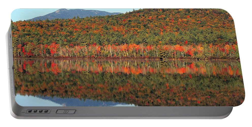 Foliage Portable Battery Charger featuring the photograph Chocorua by Mim White