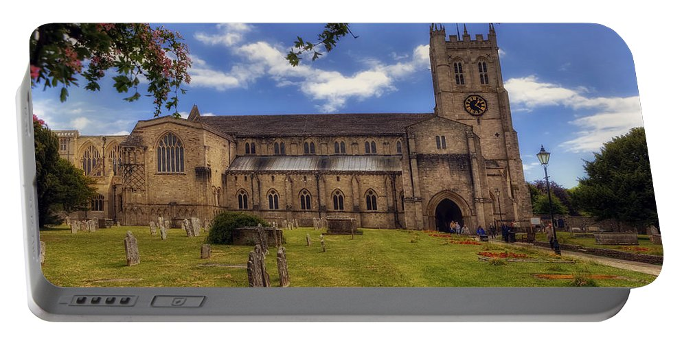 Christchurch Priory Portable Battery Charger featuring the photograph Christchurch Priory by Joana Kruse