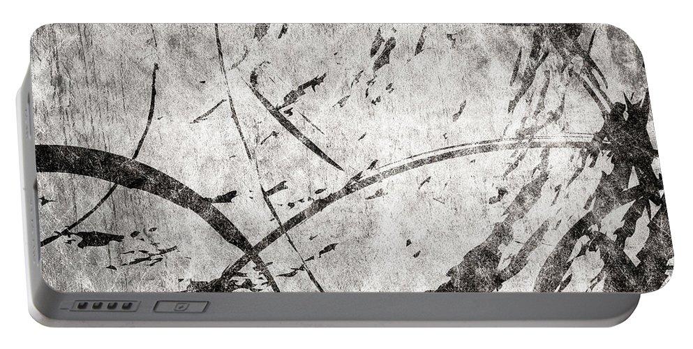 Brett Portable Battery Charger featuring the digital art Circles by Brett Pfister