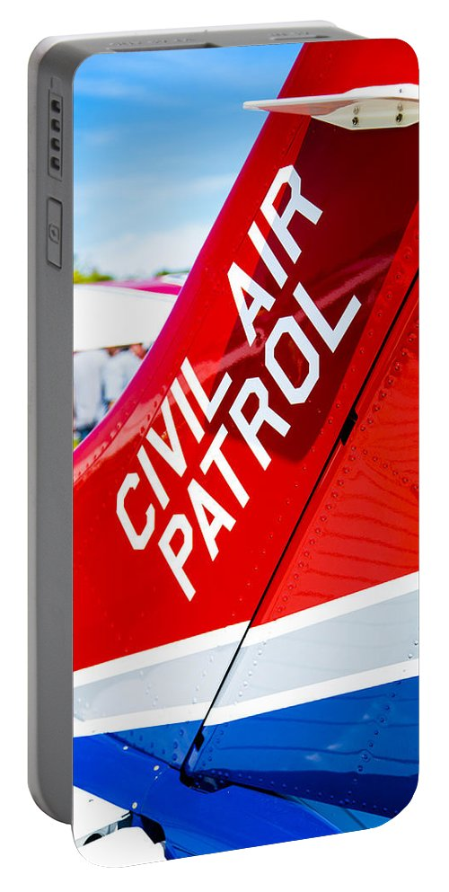Civil Air Patrol Portable Battery Charger featuring the photograph Civil Air Patrol by Karol Livote