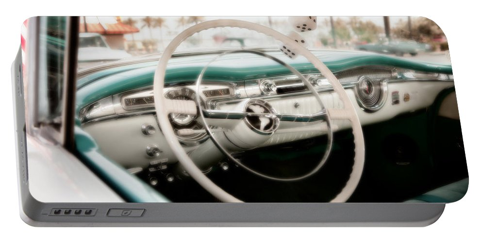 Car Portable Battery Charger featuring the photograph Classic Americana by David Hare