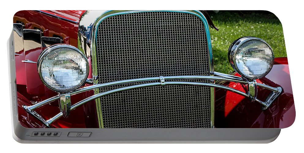 Classic Cars Portable Battery Charger featuring the photograph Classic Beauty by Cathy Smith