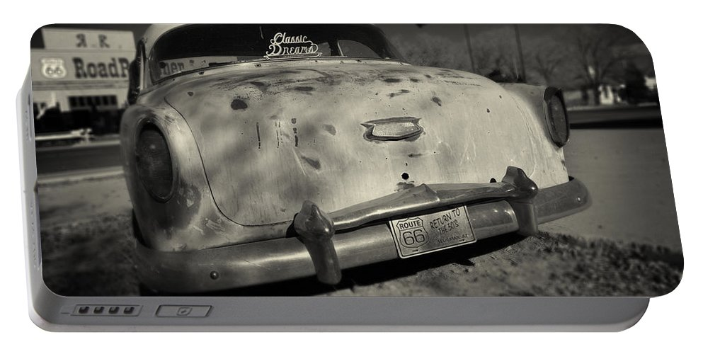 Car Portable Battery Charger featuring the photograph Classic Dreams by Dave Hare
