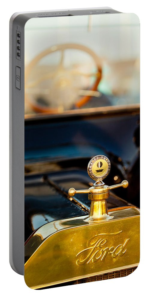 Ford Portable Battery Charger featuring the photograph Classic T by Melinda Ledsome