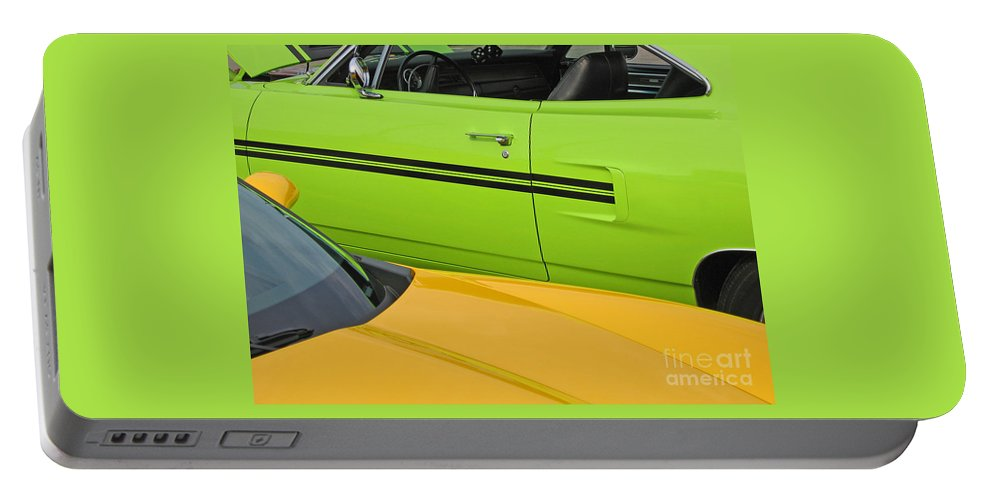 Car Portable Battery Charger featuring the photograph Classy Classics by Ann Horn