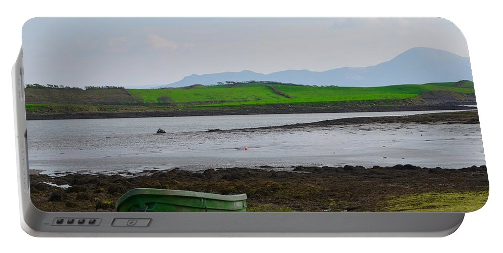 Clew Portable Battery Charger featuring the photograph Clew Bay County Mayo Ireland by Bill Cannon